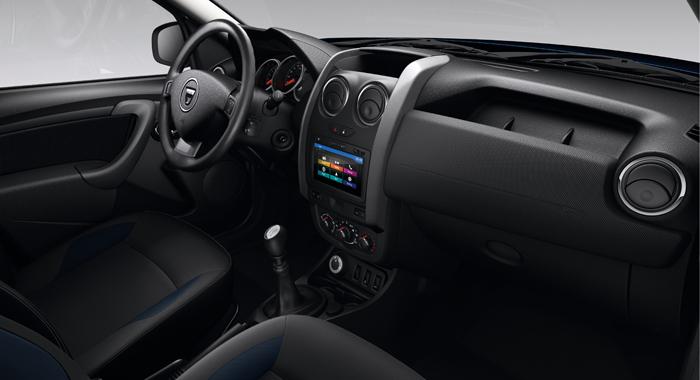 Dacia duster serie speciale la gazzetta dello sport for Duster interni